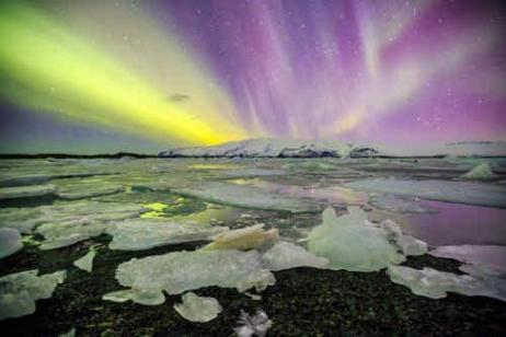 Iceland Glacial Exploration & Auroras tour