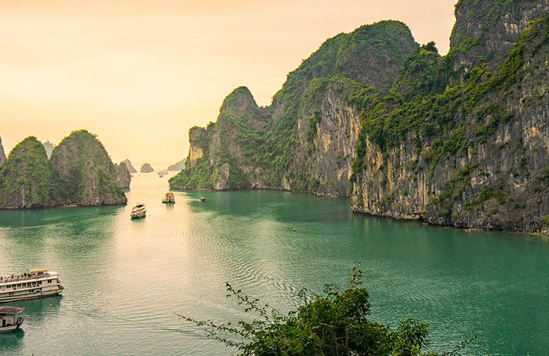 Cruising the Coast of Vietnam: North to South tour