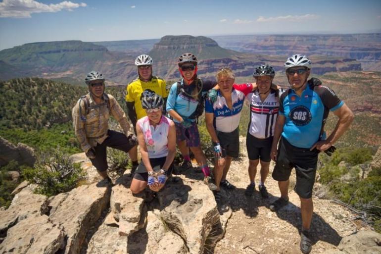 Grand Canyon North Rim 4 Day Mountain Bike Trip tour