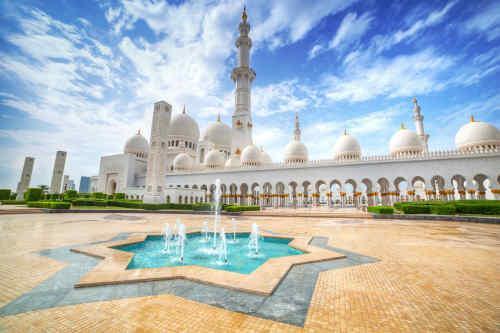 Dubai City & Abu Dhabi Beach tour