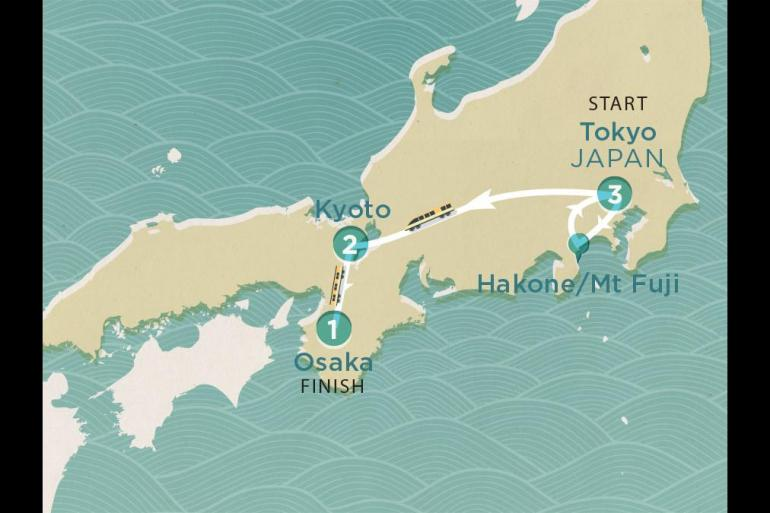 Hakone Kyoto Japan Express Trip
