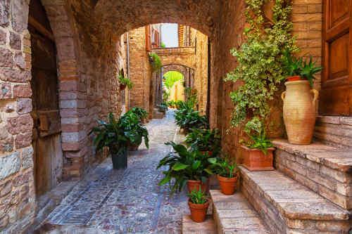 Umbrian Castle & Rome tour