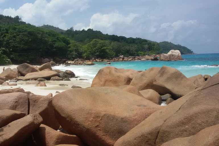 Scenic Beauty of Anse Lazio, Seychelles