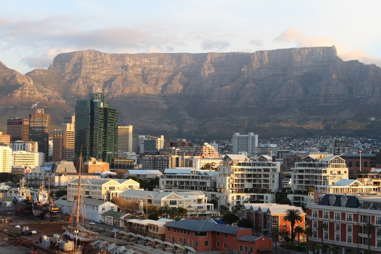 Awesome view of Table mountain-Cape town-Africa-836847-P