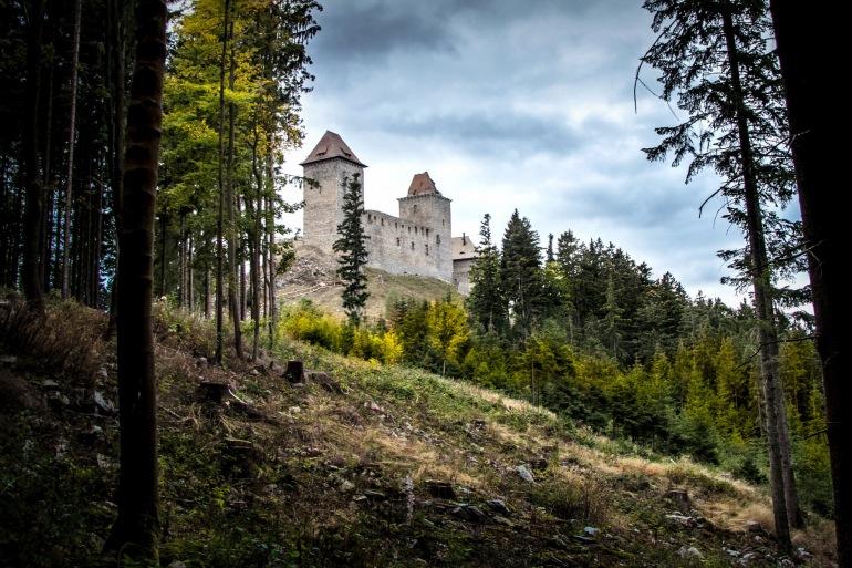 Castle view of Czech Republic, Europe