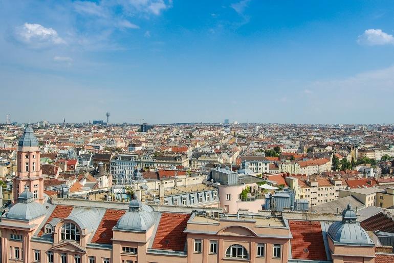 City view of Vienna, Europe_P
