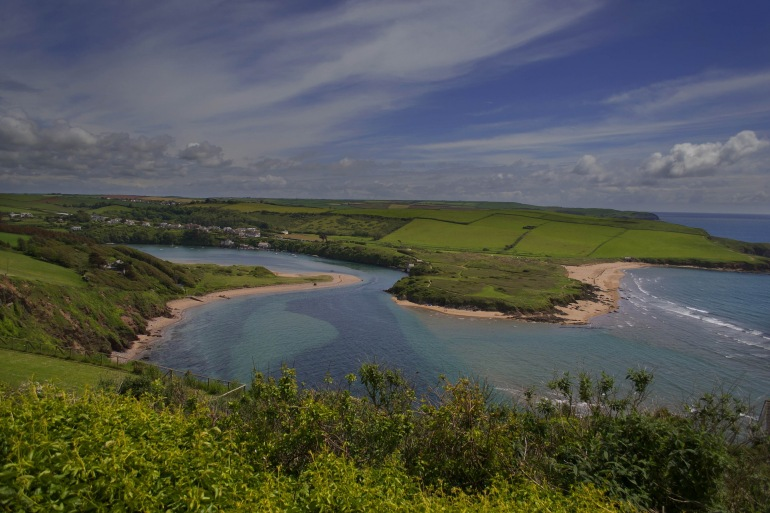 Greenary over Aven River-England-982276_P