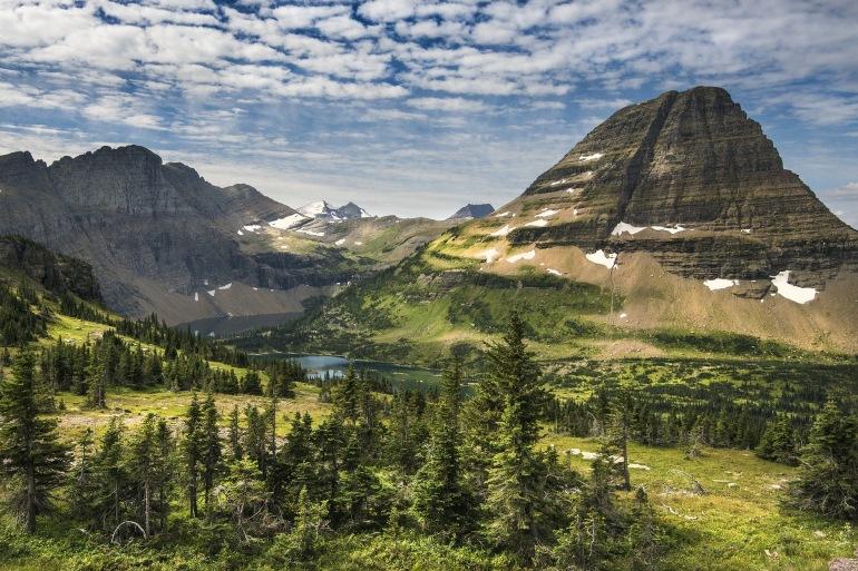 Landscape Mountain Montana, USA