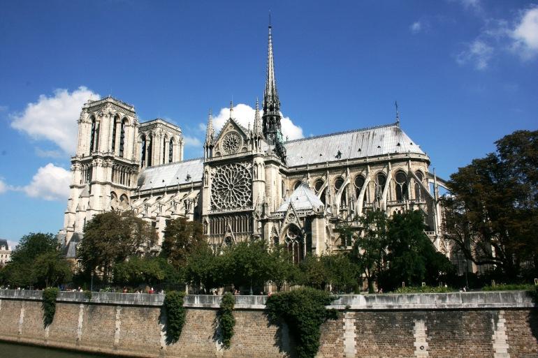 Paris Notre Dame Cathedral-France-490222-P
