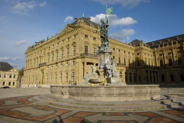 Residence of Würzburg-Germany-1105872-P