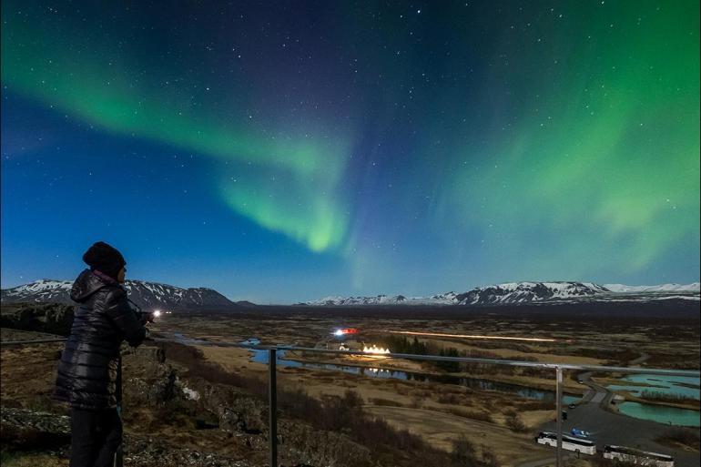 Blue Lagoon Gullfoss Northern Lights Escape Trip