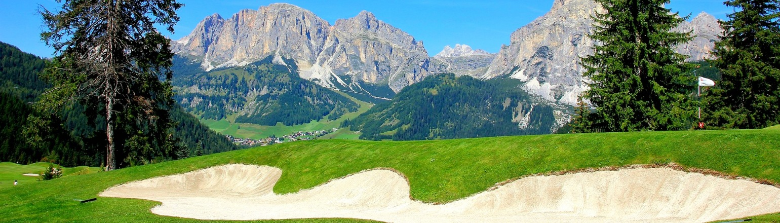 Golf course in Europe golf vacations