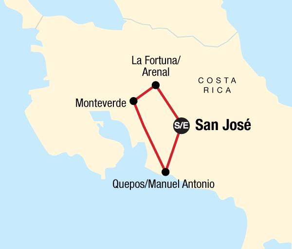Manuel Antonio National Park San José Costa Rica Family Experience Trip