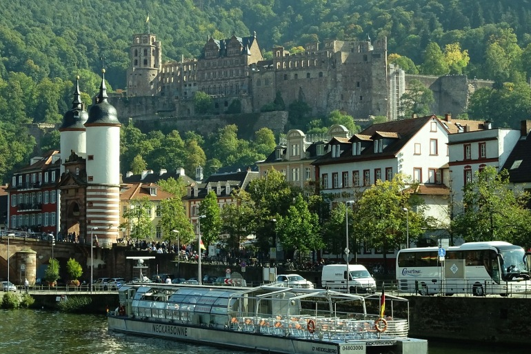 Splendid castle-Heidelberg-Germany-992560-P