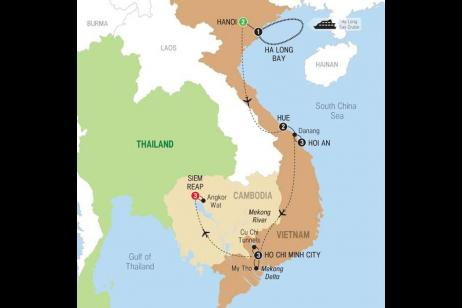 Highlights of Vietnam with Cambodia tour