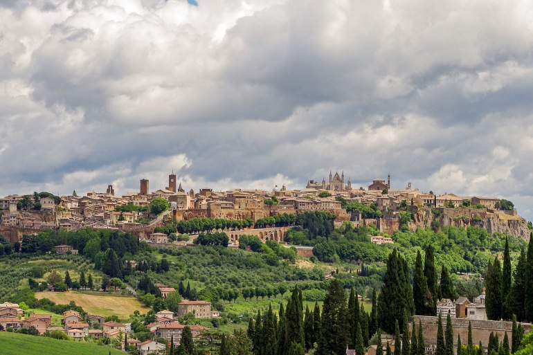 City view of Orvieto, Europe_P