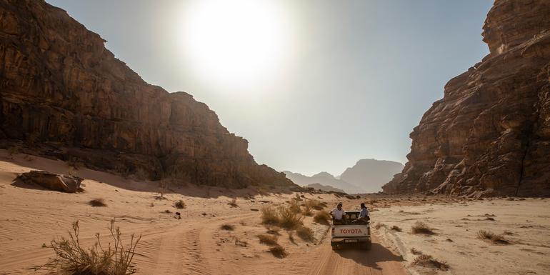 Explore Petra & Wadi Rum Independent Adventure tour