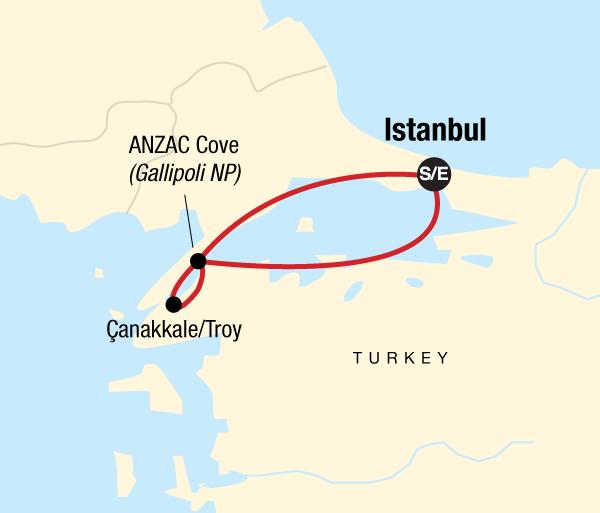 Çanakkale Istanbul ANZAC Day Memorial Tour Trip