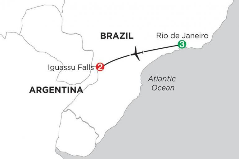 Iguazu Falls Rio de Janeiro Brazil Highlights Trip