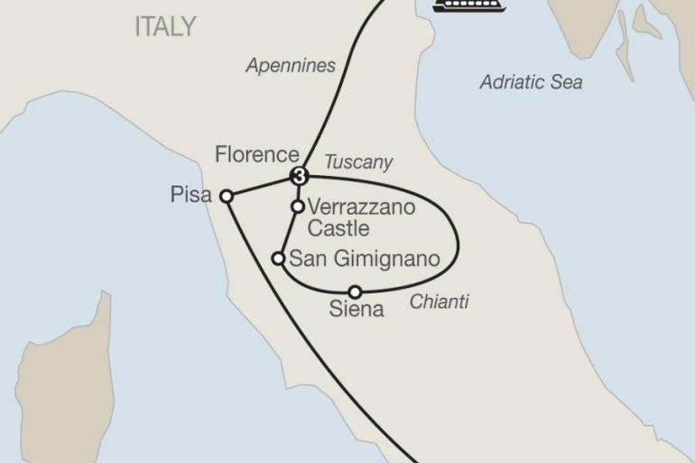 Florence Milan Italian Highlights Trip