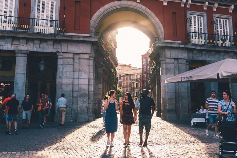 Algarve Coimbra Madrid to Marrakech Trip