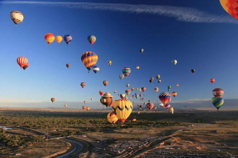 Albuquerque Balloon Fiesta tour