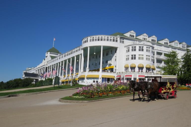 Cultural Culture Mackinac Island featuring The Grand Hotel and the Tulip Festival package