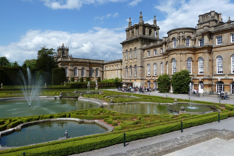 Blenheim Palace in England, Europe_P