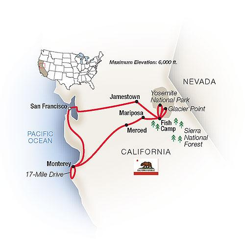 Majestic California: San Francisco, Yosemite & the Pacific 2018 by on