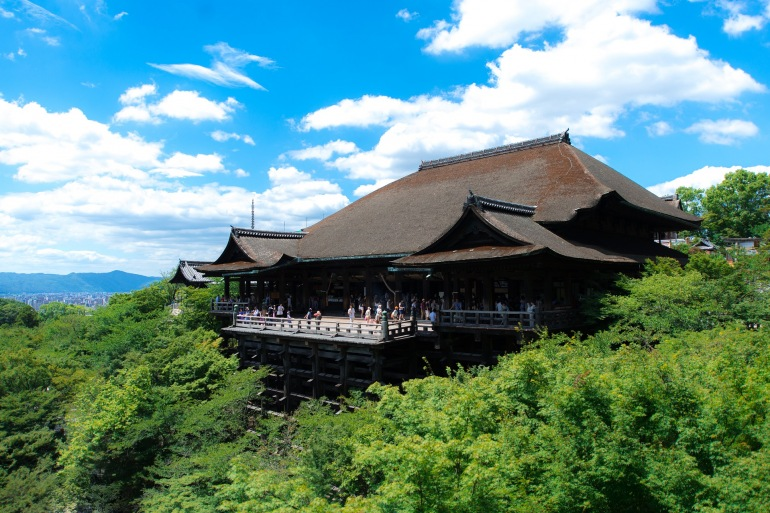 Ancient and Cultural Temple of Kyoto, Japan