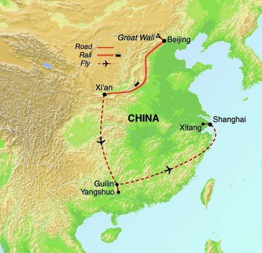 Cultural Culture Highlights of China package