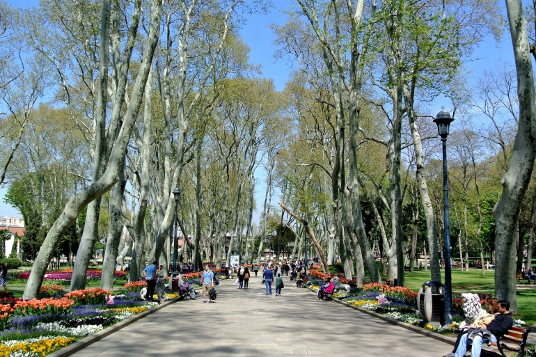 Topkapi Palace Garden-Istanbul-Turkey- 2643639-P