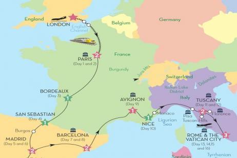 Mediterranean Journey (Preview 2018) tour