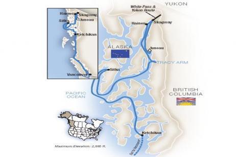 Alaska's Inside Passage - Southbound 2019 tour