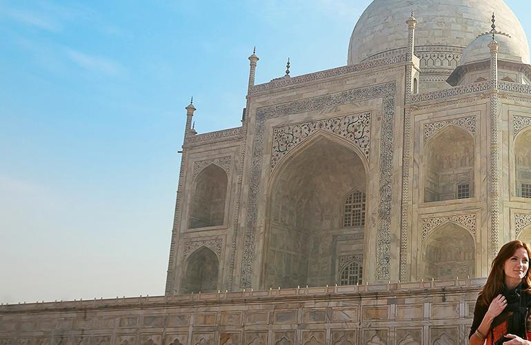 Taj Mahal Extension tour