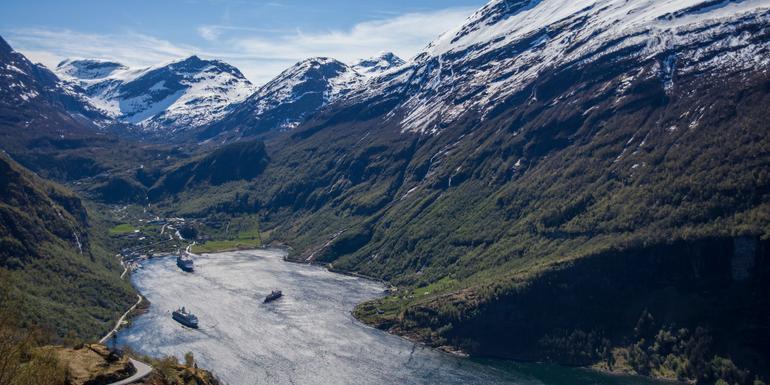 Cruise the Norwegian Fjords tour