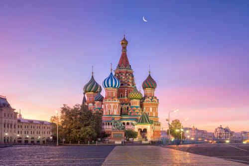 St. Petersburg & Moscow tour