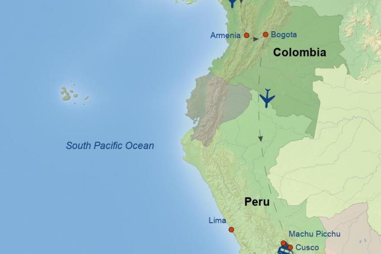 Bogota Cartagena Best of Colombia & Peru Trip