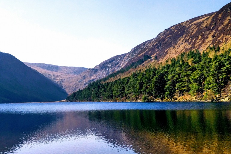 Lake View at Wicklow Mountains, Ireland
