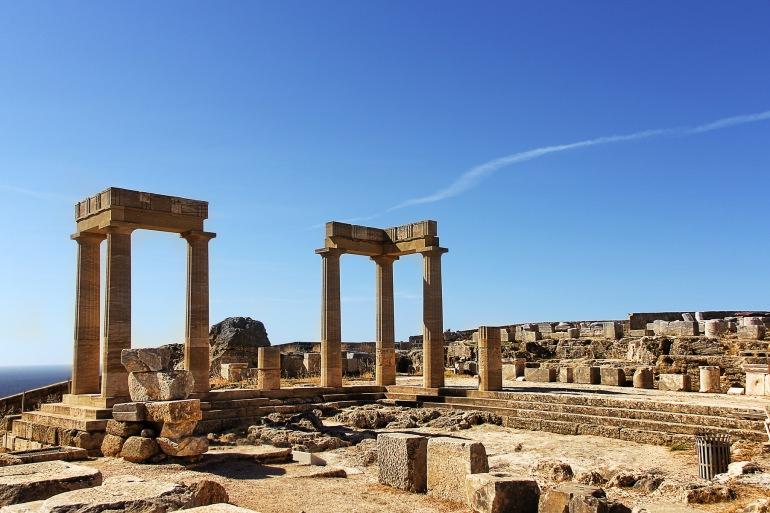 Ruins at Olympia, Greece_P