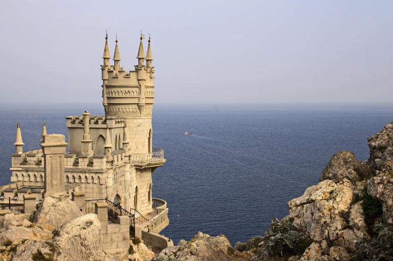 Swallow's Nest near the sea-Yalta_ 1279126_P