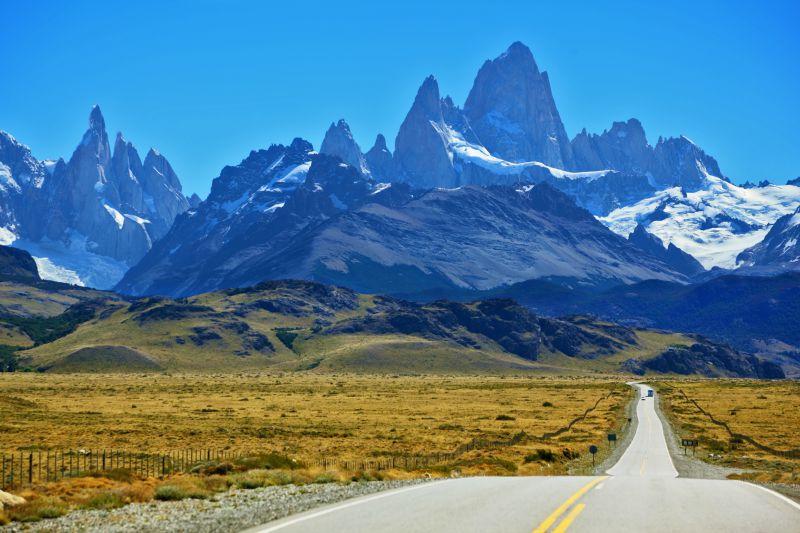 Fitz Roy Peak in Patagonia