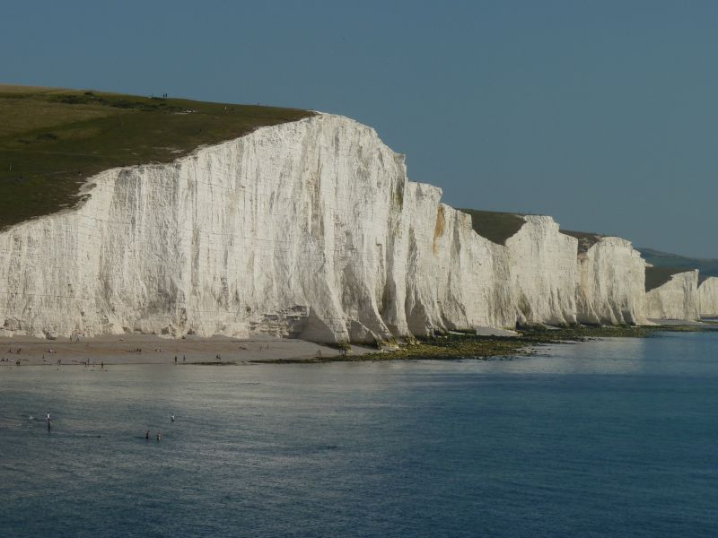 Seven Sisters Cliffs in Sussex