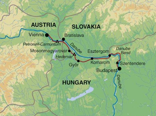 Adventure Culture Cycling The Danube: Vienna to Budapest package