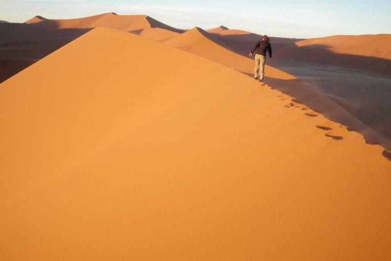 Dunes of the Namib Desert, Africa
