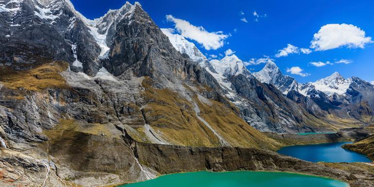 Trekking the Huayhuash Circuit tour