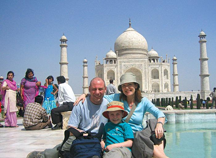 Agra Amber Fort Northern India Family Holiday Trip