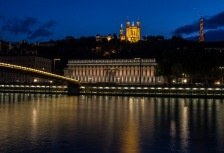 Saone River cruise in Lyon France
