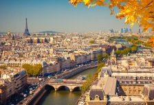 Paris in Autumn, top France attraction
