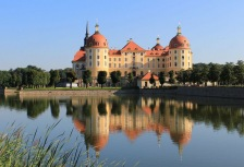 Visiting Moritzburg on a Germany tour